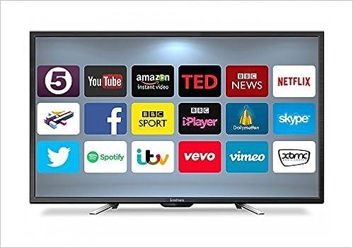 Goodmans g50ansmt 4k 50 inch uhd smart led tv black amazon goodmans g50ansmt 4k 50 inch uhd smart led tv black amazon books ccuart Images