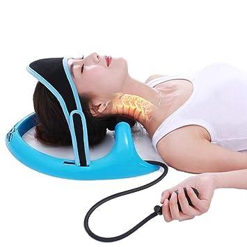 Amazon.com: Dispositivo de tracción cervical inflable ...