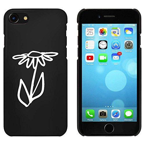 Noir 'Marguerite' étui / housse pour iPhone 7 (MC00086994)