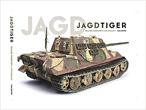 Building Trumpeters 1:16th Scale Kit Jagdtiger Book