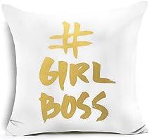 wintefei Throw Pillow Case Star Shining PrintedSofa Cushion Cover Home Decor