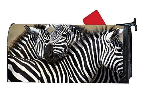 Tollyee Unique Mailbox Makover Cover Zebra Desktop Backgrounds Mailbox Makeover Magnetic Mailbox Cover 9