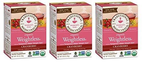 Traditional Medicinals Weightless Cranberry Women's Tea Organic, 16 CT