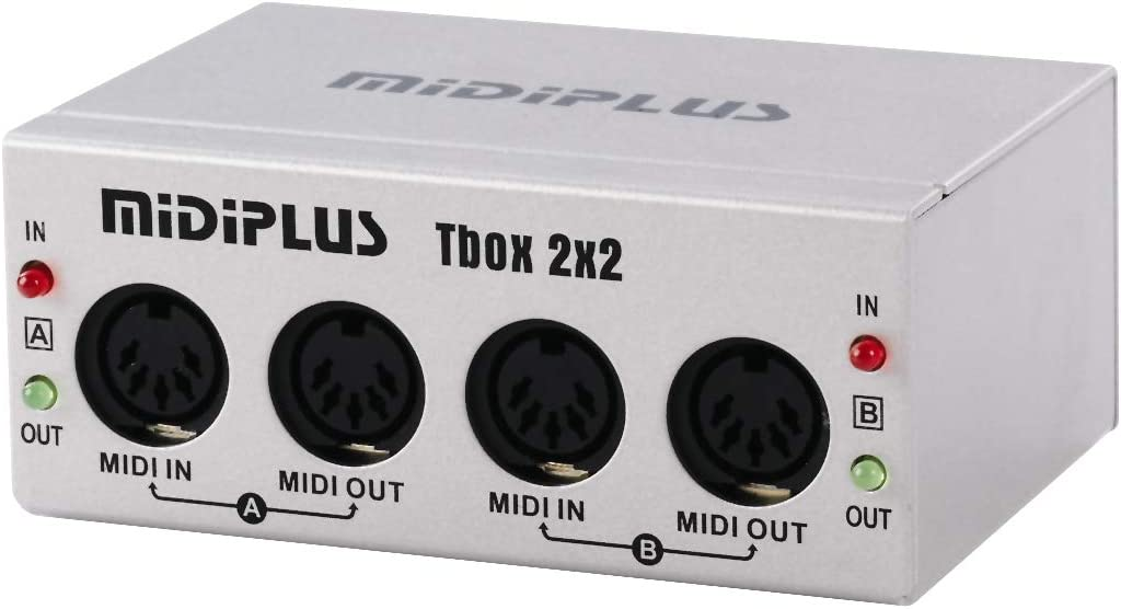 midiplus Tbox2X2 USB MIDI Interfaces