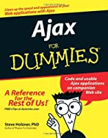 Ajax For Dummies Front Cover