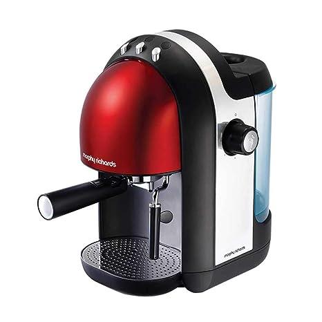 Máquina de café de acero inoxidable italiana tipo bomba semiautomática de 1250 ml (Color :
