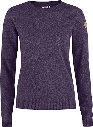 - Fjallraven Women's Ovik Re-Wool Sweater, Alpine Purple, L