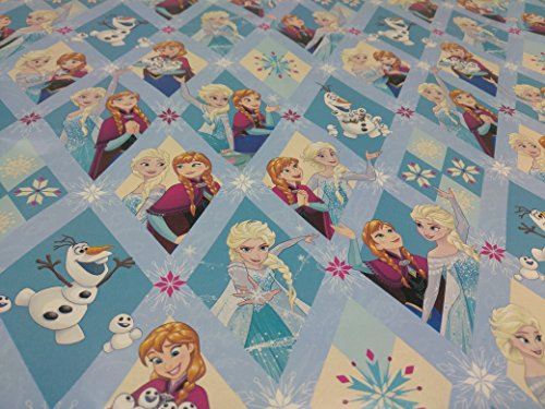 Christmas Wrapping Holiday Paper Gift Greetings 1 Roll Design Festive Wrap Frozen Elsa (Homemade Frozen Costume Elsa)