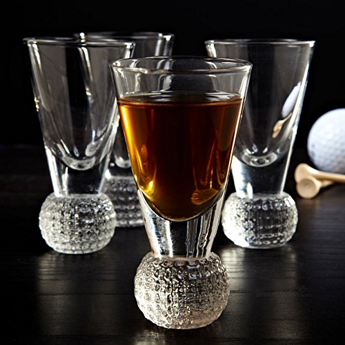 Golf Ball Shot Glass Set ()
