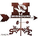 Hand Made MISSOURI TIGERS GARDEN Stake Weathervane ~NEW~ by SWEN Products