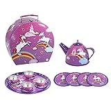 Pink Poppy Unicorn Tea Set in Carry Case