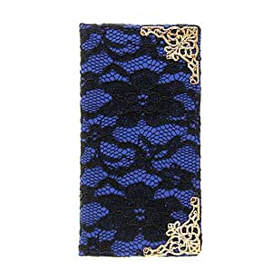 PEACH-Lace Skin Pattern PU Leather Full Body Case for Samsung Galaxy S4 I9500