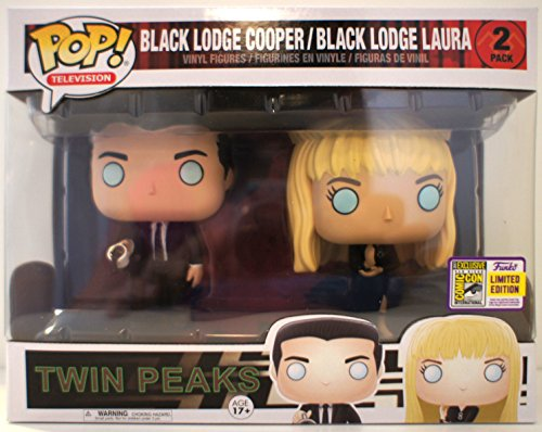 Funko Twin Peaks Pop Vinyl Figure Cooper&Laura Palmer - Juego de 2 Unidades SDCC Summer Convention Exclusives, 13184