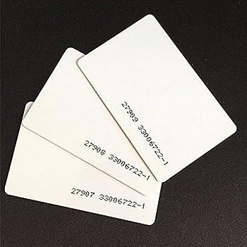 Amazon.com: 200pcs 125 Khz RFID Tarjeta de tarjetas de ...