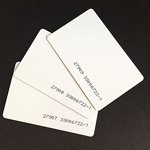 100pcs 26 Bit Proximity Cards Weigand Prox Blank Printable Swipe Cards Compatable with ISOProx 1386 1326 H10301 format readers. Works with the vast majority of access control systems ()