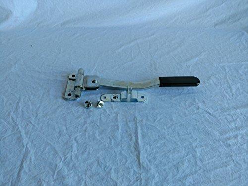 Bar Cam - Kay Enterprises Heavy Duty Welded Trailer Door Swing Bar Cam Handle Latch Cargo Zinc Lockable