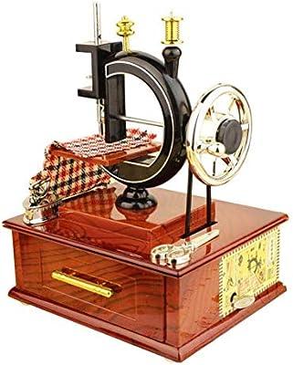 Caja de música Caja de música de la máquina de coser, caja de ...