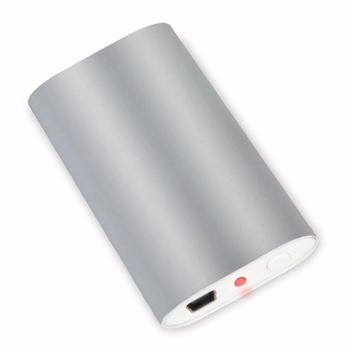 Silver WellRest/® Rechargeable Hand Warmer 38533828174