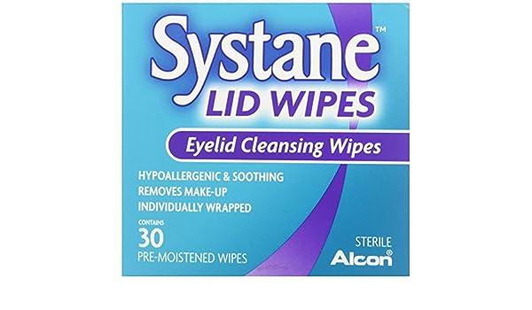 Systane - Toallitas limpiadoras con ojales (30 unidades por paquete, 2 unidades): Amazon.es: Industria, empresas y ciencia