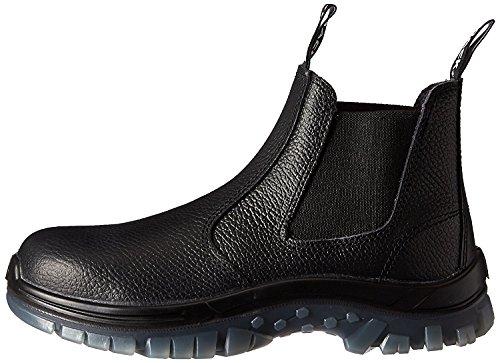 SAS Safety E93811141 Mack Tradie Boots, USA 12.5, Black