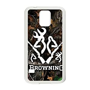 Browning Pattern Plastic Case For Samsung Galaxy S5