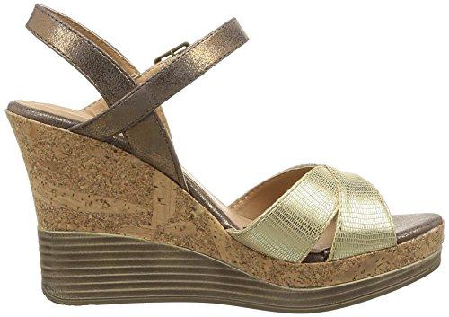 Initiale Carat - Sandalias de vestir Mujer dorado - oro
