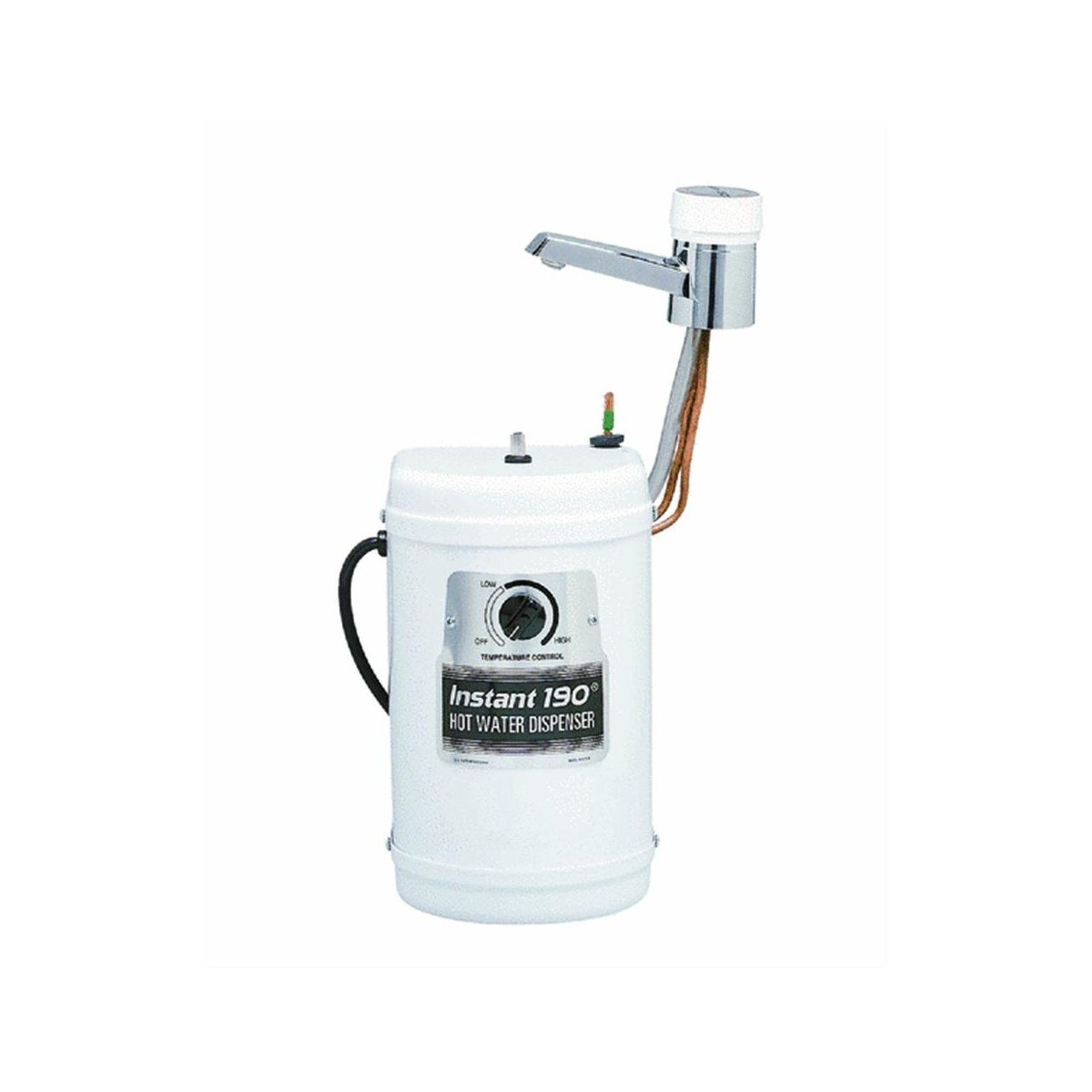 Waste King H510-U-CH Tahoe Hot Water Faucet with Tank, Chrome ...