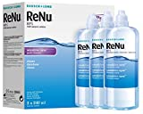 Bausch&Lomb ReNu MPS Multi- Purpose Solution for Sensitive Eyes 3x240ml (3 months supply) by Bausch & Lomb