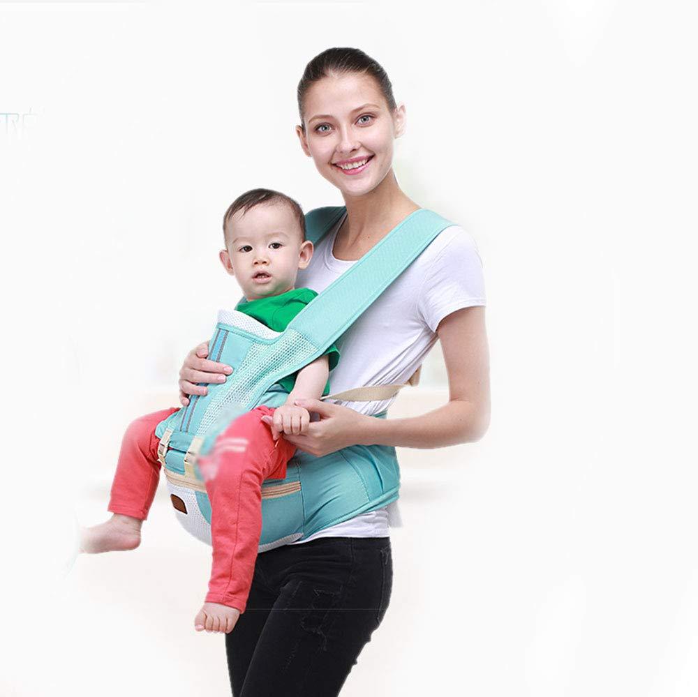 CPDZ Abnehmbare Babytrage Reise Spaziergang Baumwolle Babytrage Komfortable Und Ergonomische Kind Und Neugeborenen Sling Multi-Position Tragetuch
