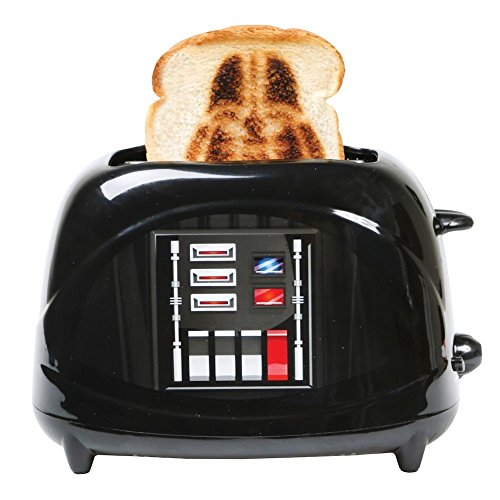 Star Wars Branding Toaster - Empire Collection Darth Vader Character Chest Plate (Themed Collections)