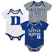 Outerstuff Duke Blue Devils 3 Points Baby/Infant 3 Piece Creeper Set 3-6 Months