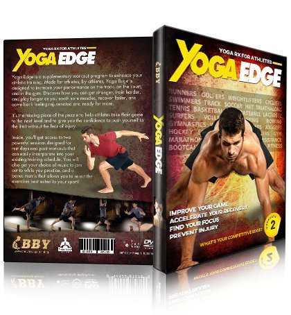 Yoga Edge - Yoga Rx For Runners, Cyclists, Swimmers, Athletes, Golfers, Weightlifters, Cross Training, Tennis, and More! Train Harder, Recover Faster, Play Longer, and Feel Better!