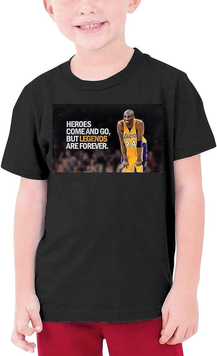 Kobe-Bryant Youth Unisex Short Sleeve Tee for Boy and Girl Others Rip Kobe-Bryant Youth Unisex Short Sleeve T-Shirt