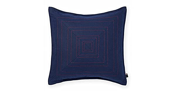Amazon Tommy Hilfiger Pick Stitched Decorative Pillow Navy Impressive Tommy Hilfiger Decorative Pillow Coussin Almohada