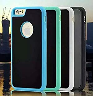 iPhone 7 Case, Mixneer Novel Anti-Gravity Phone Case Magical Anti Gravity Nano Suction Back Cover Antigravity Cases for Apple iPhone 7 4.7 Inch - Blue