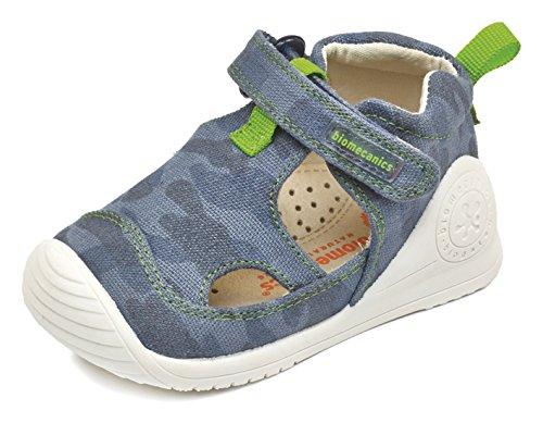 Biomecanics 172156, Zapatillas para Niños Varios colores (Azul Marino /     Estampado Camuflaje )