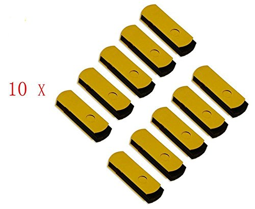 FEBNISCTE 100 Pack 512MB Pendrive Gold Swivel Cheap Bulk USB 2.0 Memory Stick by FEBNISCTE