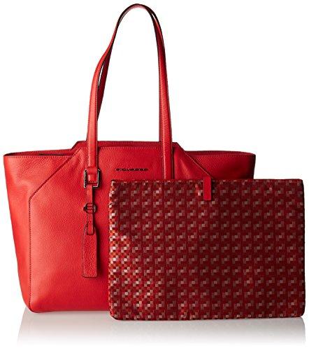 Piquadro Bd4323mu Tote-Bag Rot
