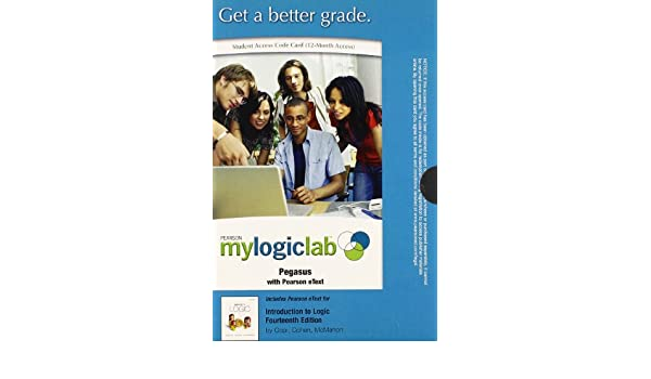 introduction to logic mylogiclab access codes
