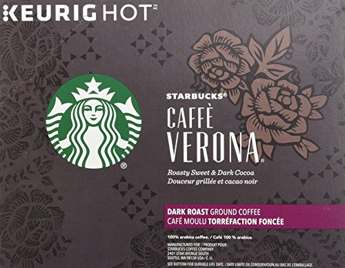 Starbucks Caffe Verona Dark, K-Cup for Keurig Brewers, 24 Count by Starbucks (Image #5)