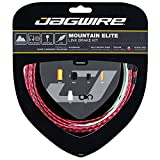 Jagwire Mountain Elite Link Bicycle Brake Cable Housing Kit (Red)