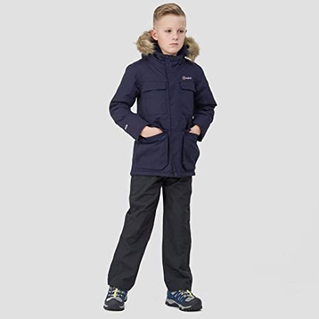 Berghaus Kids Fourstones Waterproof Parka Navy Age 9-10