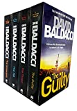 David Baldacci Will Robie Series 4 Books Collection Set (The Target, The Hit, The Guilty, The Innocent)
