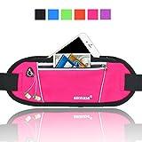 AIKELIDA Running Belt / Fanny Pack / Fitness Belt / Waist Pack for iPhone, ...