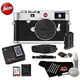 Leica M10 Digital Rangefinder 24MP Camera 20000 (Silver) Bundle w/64GB SDXC Memory Card