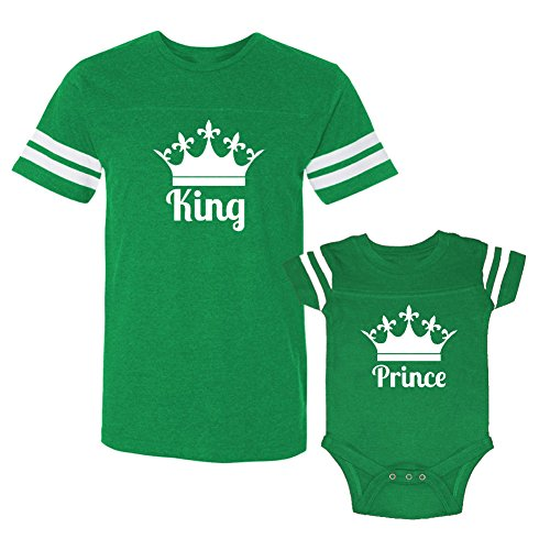 Son/Daughter of a King Couple Shirt (White) - 4