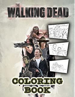 The Walking Dead Coloring Book 62 Coloring Pages From Season 8