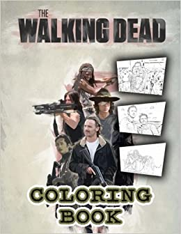 Amazon Com The Walking Dead Coloring Book 50 Coloring Pages From