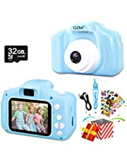 OZMI Upgrade Kids Selfie Camera, Christmas Kids Toys for Girls Boys Age 3-12, Children Digital Cameras 1080P 2 Inch Toddler Video Birthday Gift for 3 4 5 6 7 8 9 10 Year Old Girls with 32GB SD Card