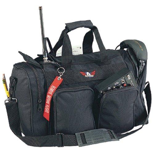 Avcomm Deluxe Duffle Style Flight Bag Black